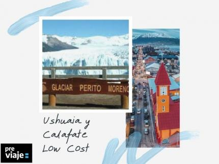 Ushuaia y Calafate-Low cost